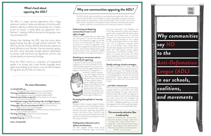 Communities say NO to ADL - May 2018 - page 2
